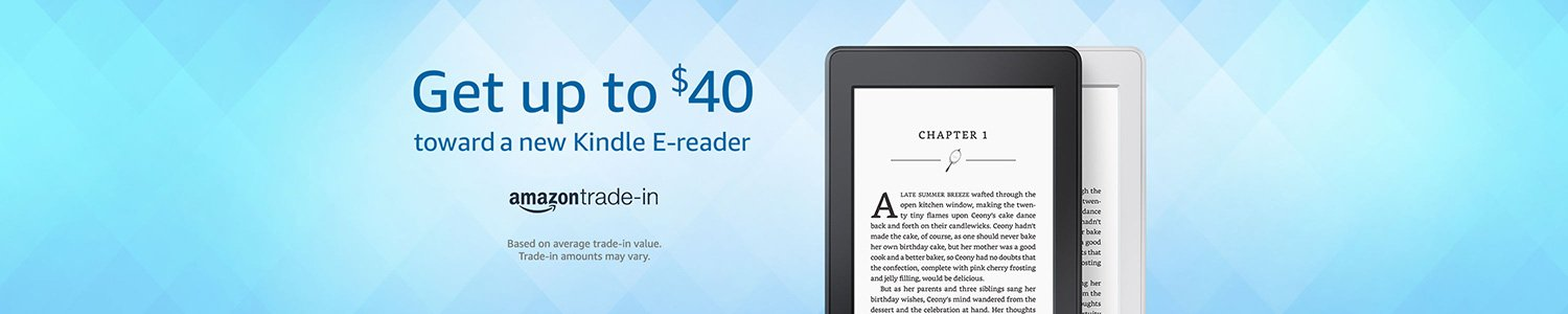Amazon Trade in  - Kindle E-readers