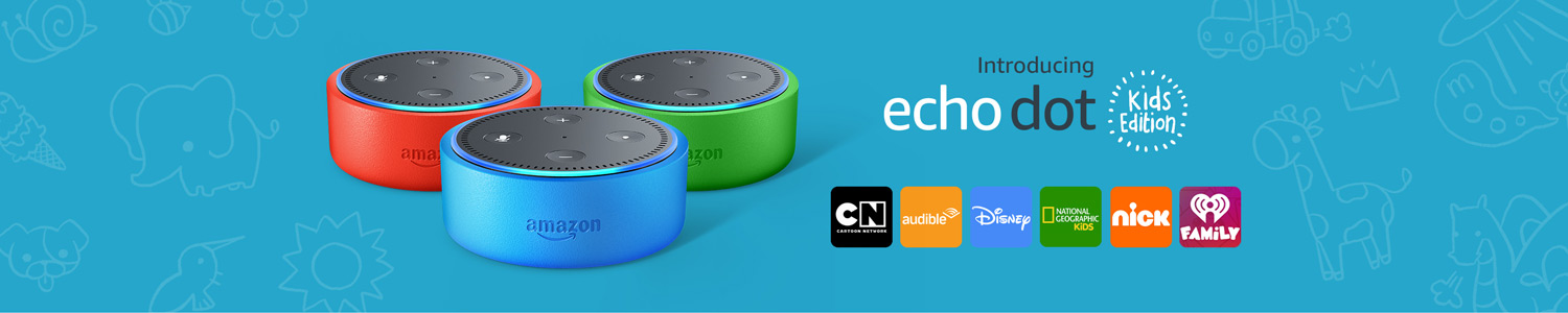 Introducing Echo Dot Kids Edition