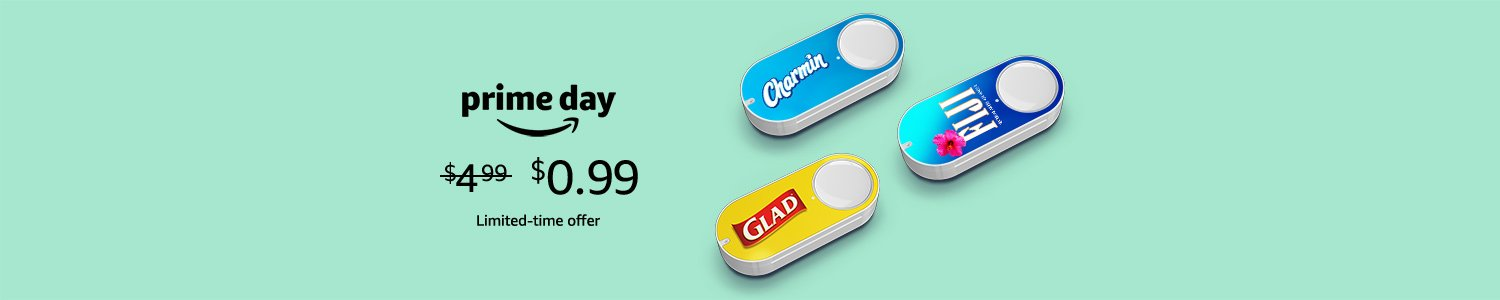 Prime Day Deals: get Dash Button for $0.99