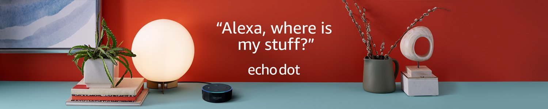 Echo Dot   Alexa, where's my stuff?