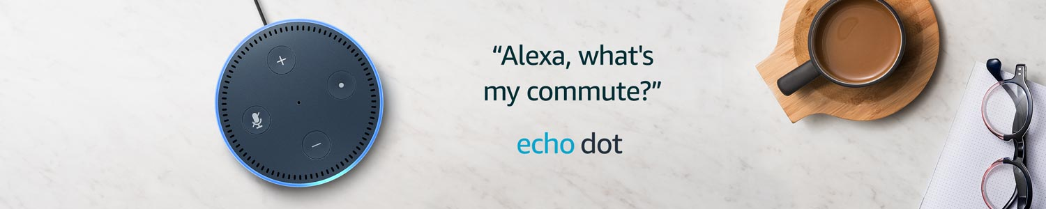 Alexa, what's my commute?| Echo Dot