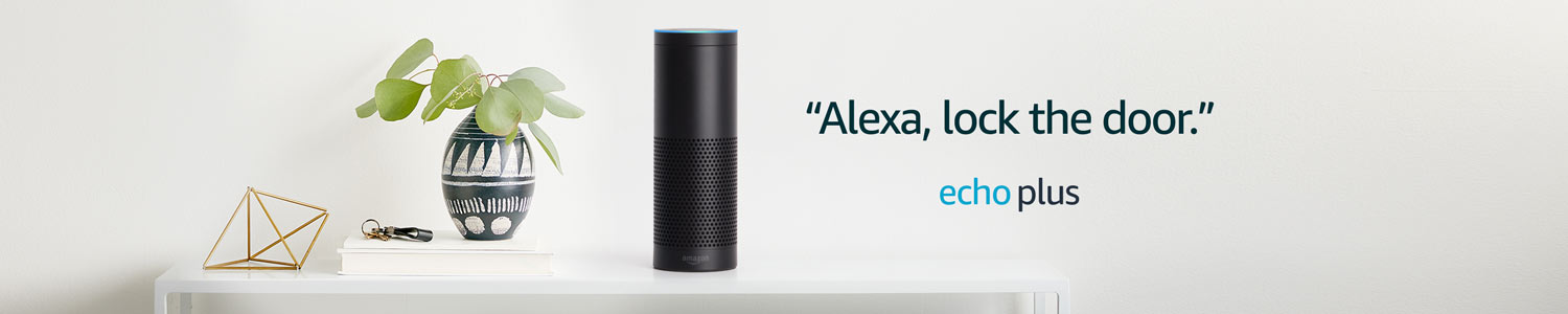 Alexa, lock the door. | Echo Plus