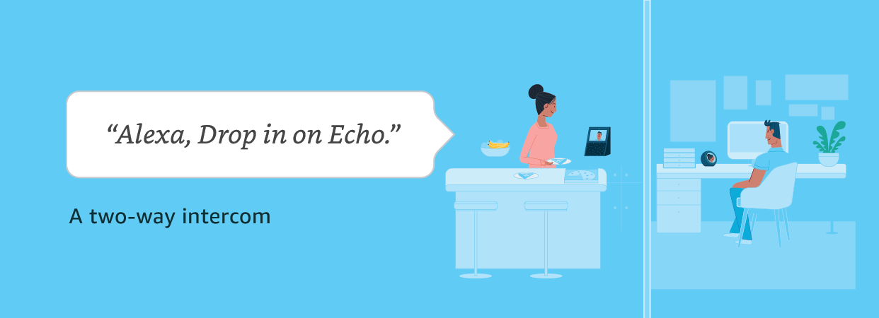 Alexa, Drop in on Echo