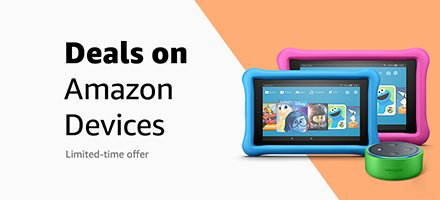 Amazon Devices for Off to College