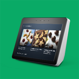 Image of an Echo Show devices.