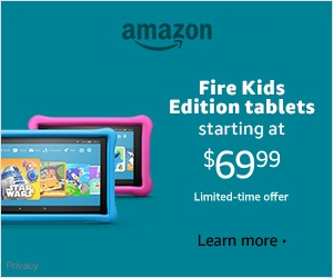 Amazon Fire Kids tablets - Holiday Sale