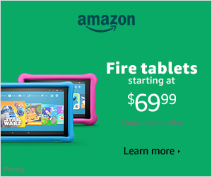 Kids Edition Fire Tablets