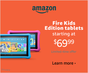 Kids Edition Fire Tablets - Cyber Monday