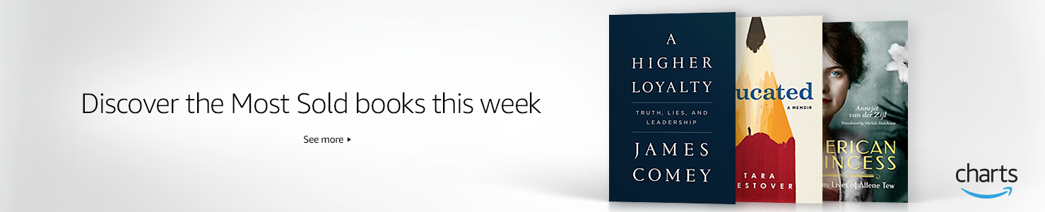 Discover the Most Read & Most Sold books this week on Amazon Charts