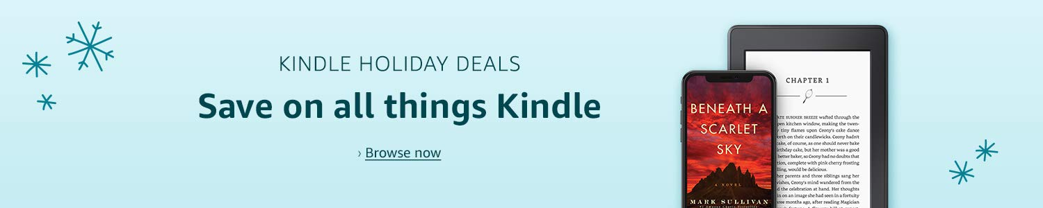 Kindle Holiday Deals Save on all things Kindle