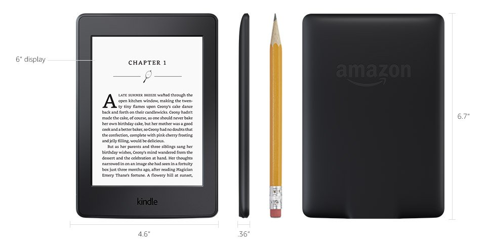 Kindle paperwhite e reader amazon official site tech specs fandeluxe