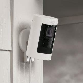 Amazon.com: Ring Stick Up Cam Wired HD Security Camera with ...