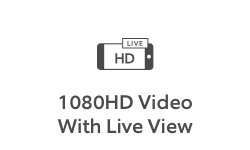 1080HD Video With Live View