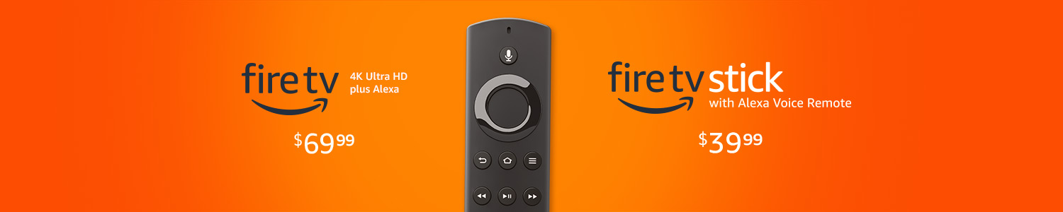 Meet the Fire TV family
