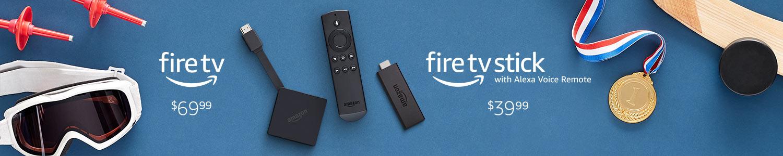Meet the Fire TV family