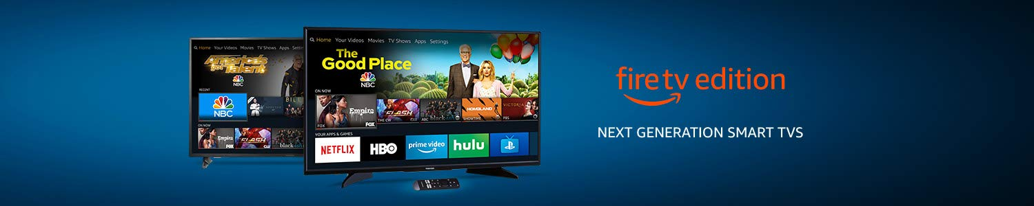 Fire TV Edition Smart TVs
