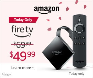 Shop Amazon Devices - Save $20 on Fire TV - Today Only