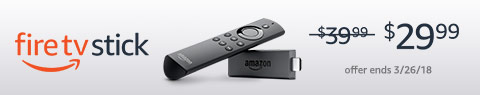 Fire TV Stick for $29.99