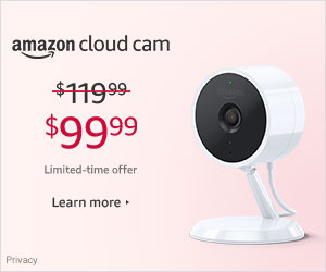 Shop Amazon Devices- $20 off Amazon Cloud Cam
