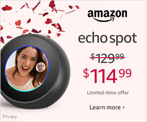 Shop Amazon Devices - Save $15 on Echo Spot