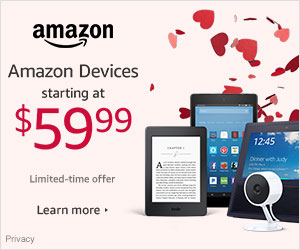 Shop Amazon Devices- Valentine's Day Deals Starting at $59.99