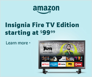 Fire TV Edition - Insignia TVs starting at $99.99