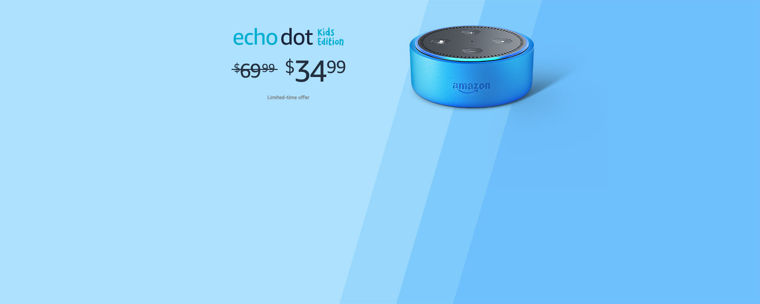 Echo Dot Kids Edition | $34.99 | Limited-time offer