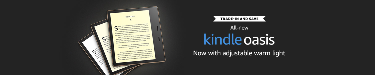 trade in and save on the Kindle Paperwhite