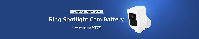 Certified Refurbished Spotlight Cam Wired| $179