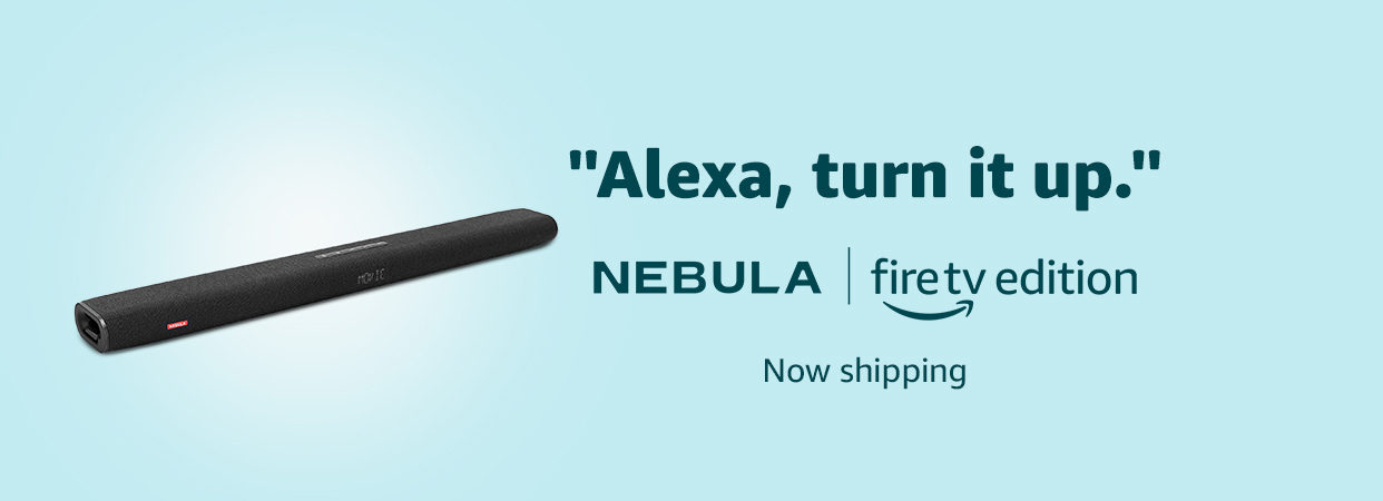 """Alexa, turn it up."" 