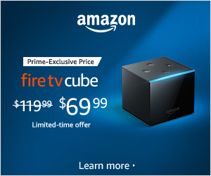 Amazon Devices - Prime-exclusive Offer - $50 Off Fire TV Cube