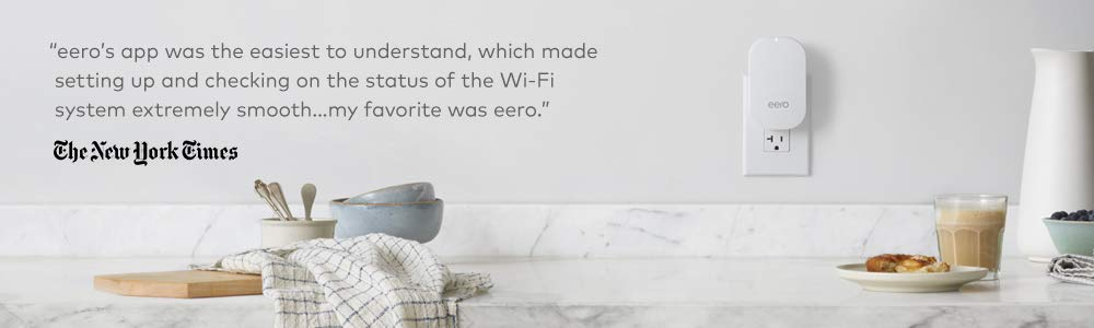 eero Pro WiFi System (Set of 3 eero Pros) – 2nd Generation - Advanced  Tri-Band Mesh WiFi System to Replace Traditional Routers and WiFi Range