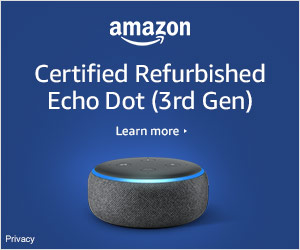 Shop Amazon Devices - Certified Refurbished Echo Dot (3rd Gen) now available at $44.99. Look and work like new