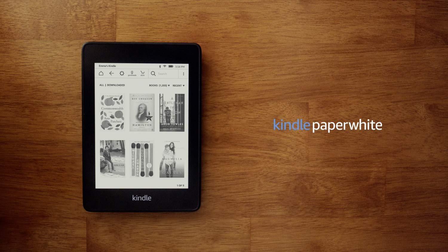 Kindle Paperwhite – 8 GB, Wi-Fi, Includes Special Offers. Best Gift Idea