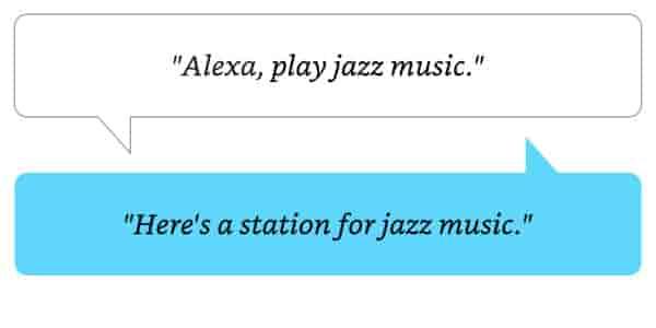 Alexa, play jazz music.