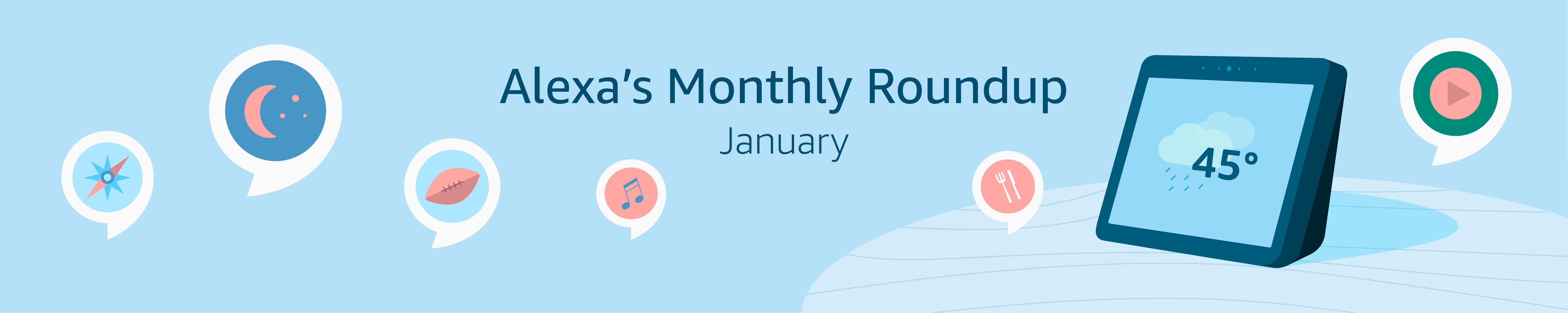 Alexa's Monthly Roundup: January