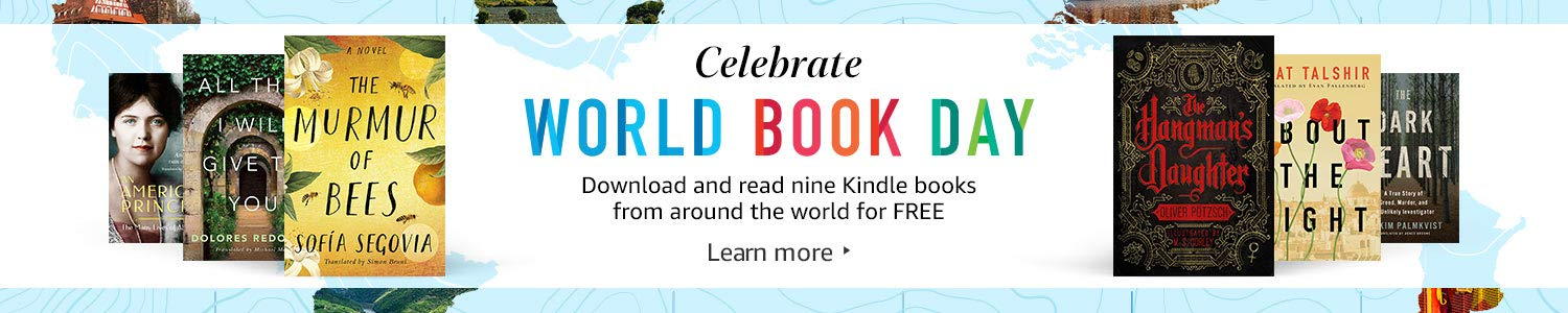 Celebrate World Book Day | Download and read nine Kindle books from around the world for FREE