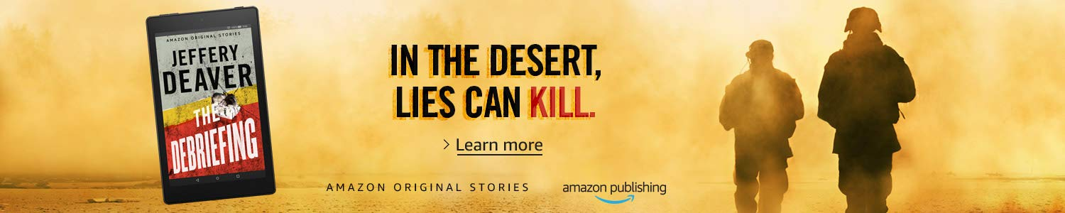AMAZON ORIGINAL STORIES | THE DEBRIEFING | LEARN MORE