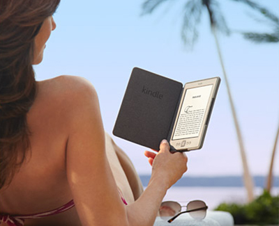 Kindle Cover Outdoors, Read with One Hand