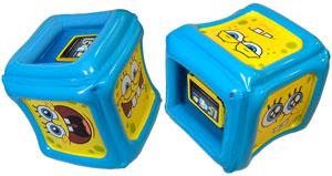 CTA Digital SpongeBob SquarePants Inflatable Play Cube for Kindle Fire