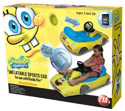 CTA Digital SpongeBob SquarePants Inflatable Sports Car for iPad Packaging