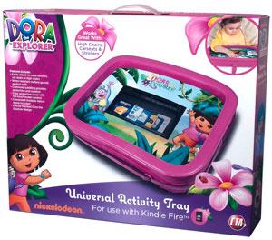 CTA Digital Dora the Explorer Universal Activity Tray for Kindle Fire