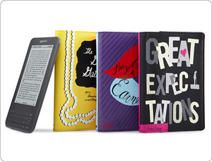 kate spade Kindle Canvas Book Covers