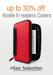 up to 30% off Kindle E-reader Covers and Cases