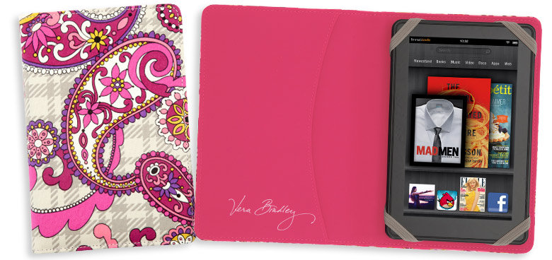 kindle fire hd cases vera bradley