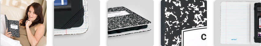 Amazon.com: Verso Trends Scholar For Kindle Fire (Black/White ...