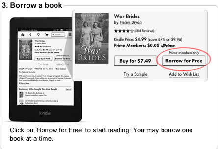 Click on 'Borrow for Free' to start reading. You may borrow one book at a time.