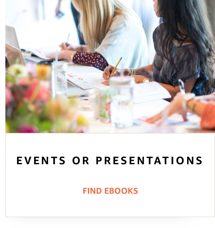 Events or presentations