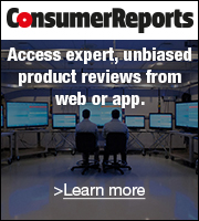 Consumer Reports: Find the best choices, first 30 days FREE. Try now.