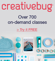 Get unlimited access to more than 700 award-winning art & craft video classes. Try creativebug FREE today.